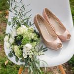 Brautstrauß Vintage - BlumenART-Caputh
