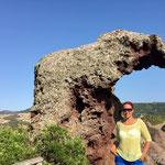 The elephant rock, Sardinia