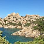 Bay at Capo Testa, Sardinia