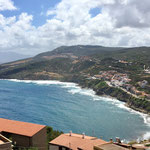 View from the top of the hill in Castelsardo, Sardinia
