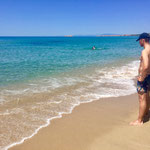 Li Junchi Beach in Badesi, Sardinia