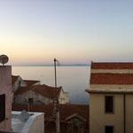 Our last sunset in Castelsardo, Sardinia