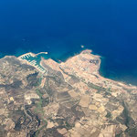 Castelsardo from the air