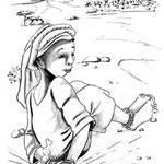 illustration jeunesse Bimbouss et les trois fléaux du désert