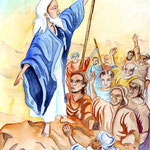 "illustration ""la bible racontée a mes petits enfants"""