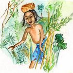 Kumba la carpe- illustrations Véronique Abt