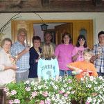 WM-Fieber mit Gästen des Haus Murachtal