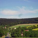 Oberlangau in der Oberpfalz in Bayern