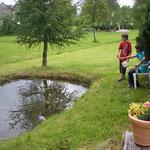 Forellenteich beim Haus Murachtal in Oberlangau
