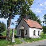 Kapelle in Oberlangau in der Oberpfalz, Bayern