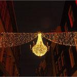 Weihnachtsbeleuchtung Nieuwedijk Amsterdam 2009