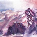Schroffe Berge