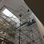 Montage d'une structure autostable en échafaudage à Paris (75)