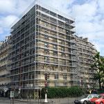 Montage des échafaudages de façades à Neuilly sur Seine (92)