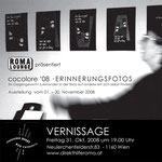 roma:lounge | exhibition |  flyerdesign by visob