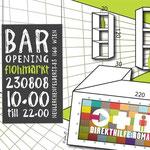 roma:lounge |baropening | flyerdesign by visob