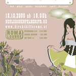 roma:lounge |octoberparty|  flyerdesign by visob