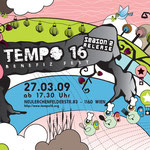 roma:lounge | tempo 16 party |  flyerdesign by visob