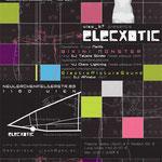 roma:lounge | elecxotic club |  flyerdesign by visob