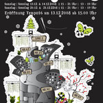 roma:lounge | xmas market -ottakring|  flyerdesign by visob