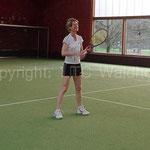 Tennis gespielt wurde auch...