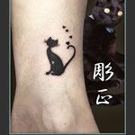 猫のタトゥー