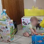 Mein erster Geburtstag - So viele Geschenke