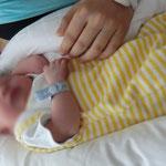Am Tag der Geburt - Krankenhaus