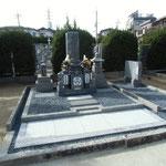 神戸型11寸墓石完成