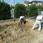 掘削状況2