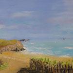 La plage - 25x50