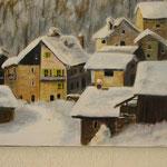 Petit village suisse  - 61x38