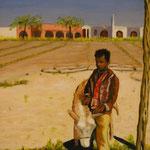 Enfant Egyptien  - 46x38