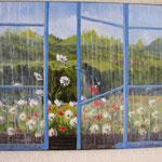 Fenêtre entr'ouverte - 61x50