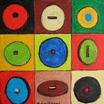 Ronds carrés - 12x12