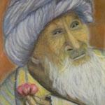 Mendiant arabe -  35x46