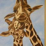 Amour de girafes  65x50