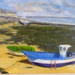 Petit port breton  - 61x50