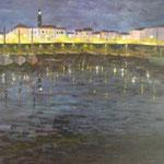 Petit port la nuit  61x50