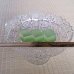 2011年7月21日銘 清流 源太製  高杯 チェコ製切り子