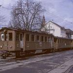 ABe 4/4 2 in Frauenfeld Stadt