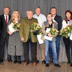 Die geehrten der Theatergruppe Wilhering