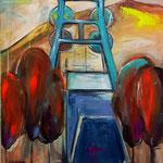 Herbst auf Prosper       100 x 80 cm verkauft/sold