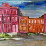 Villa Hügel/C. 100 x 160 cm, reserviert