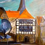 Hattingen Altstadt 80 x 60 cm verkauft/sold
