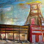 Zollverein Südansicht   100 x 120 cm   verkauft/sold