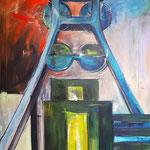 Sundowner auf Zollverein    200 x 135 cm