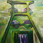 Zollverein green twin, Essen 100 x 150 cm verkauft/sold