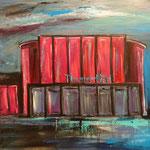 Stadttheater Marl 80 x 100 cm