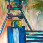 Zollverein 140 x 120 cm